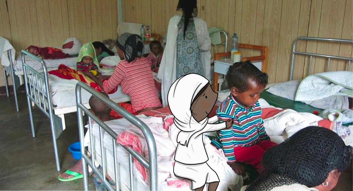 Hiwot, vida en el Hospital de Gambo actualidad colabora cooperacion deshidratación desnutricion dona etiopia fam gambo hambre Hiwot y la estrella mágica