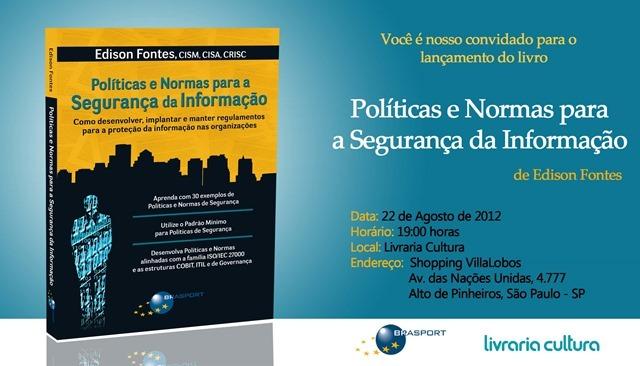 Convite Política e Normas para a Segurança da Informação