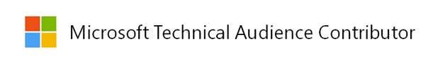 Microsoft Technical Audience Contributor