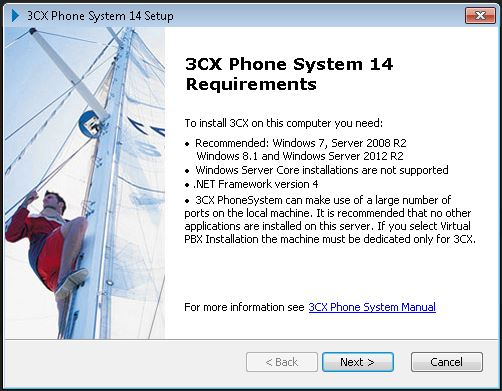 3CX+Pabx+Ip+Windows+v14+requisitos
