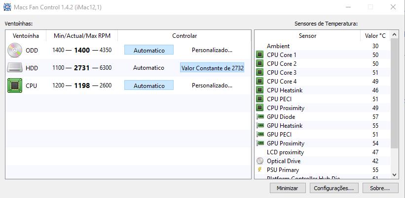 WITEC-Macs Fan Control 1.4.2 (iMac12,1)