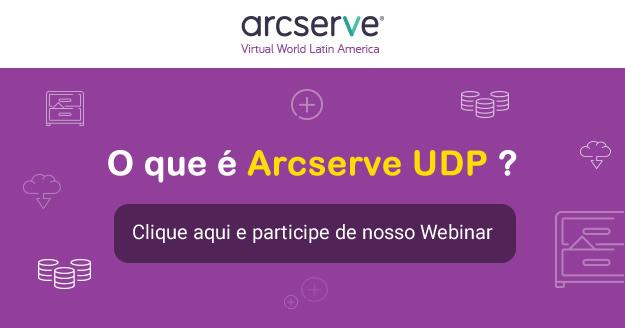 Participe do evento online sobre Arcserve UDP e como integra-lo ao Azure.