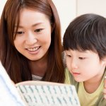 Parent-reading-child