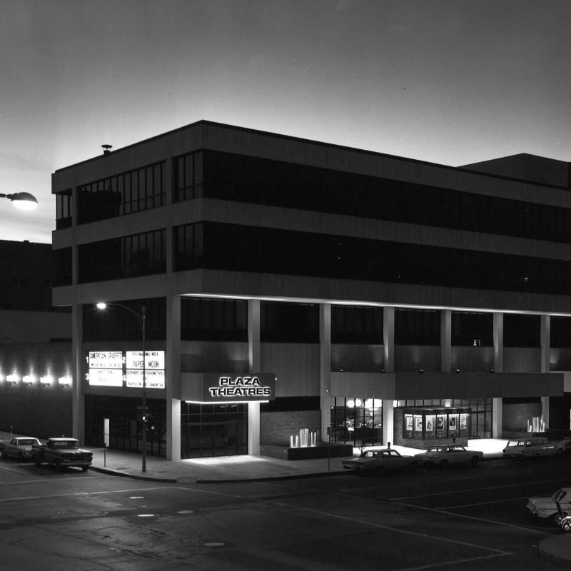 Cooper Plaza Theatres, Lincoln, NE. Theatre front.