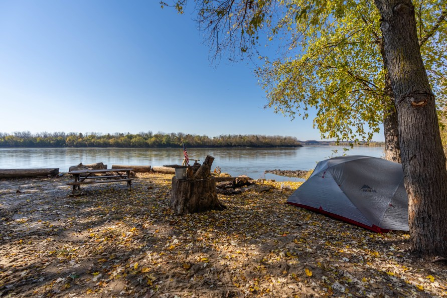 Riverfront Tent Camping