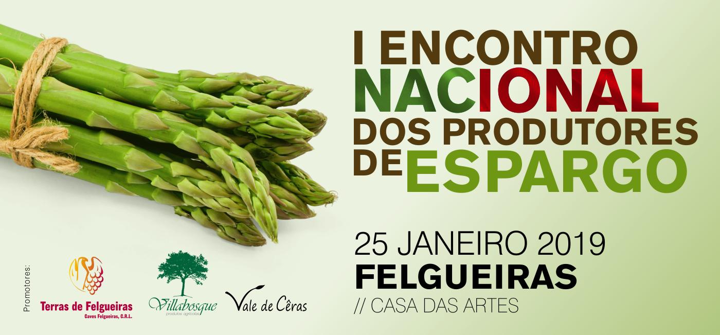 I Encontro Nacional dos Produtores de Espargo - Linque de acesso à página do evento