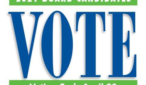 2021 Board Candidate Vote