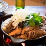 【犬山・明治村】大井牛肉店で牛鍋(すき焼き)を食べてきました