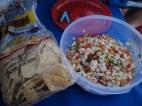 Fresh conch ceviche