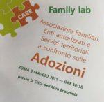Family Lab – Esperienze e confronto sull'adozione