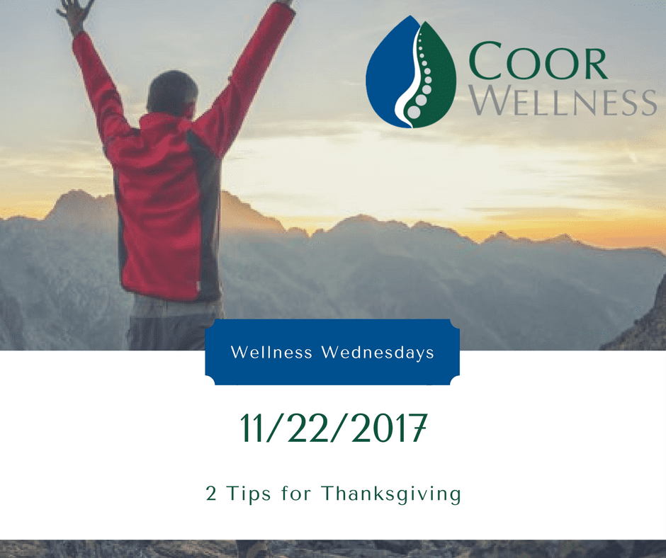 Chiropractor - Grand Junction - Healthy Tips for Thanksgiving