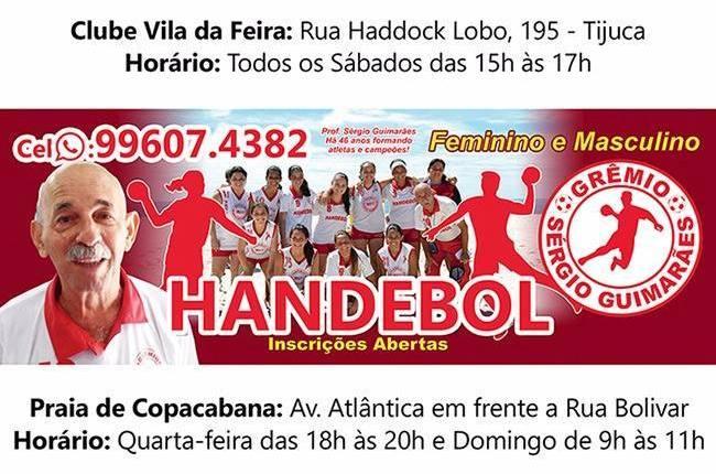 Esportes nas Areias da Praia de Copacabana – Handebol com Prof. Sergio Guimarães