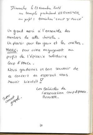 Association coup d'pouce, 27.11.2016