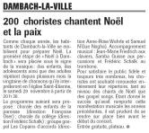 L'Alsace du 19 novembre 2003