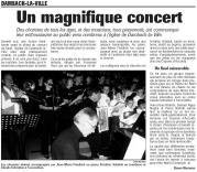 l'Alsace du 7 décembre 2004