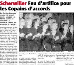L'Alsace du 27 novembre 2008