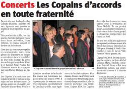 L'Alsace du 27 novembre 2010