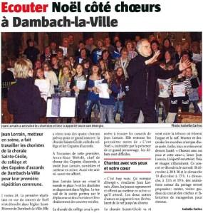 L'Alsace du 13 décembre 2010