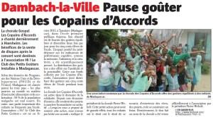 L'Alsace du 30 août 2013