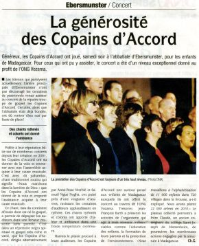DNA du 27 octobre 2010