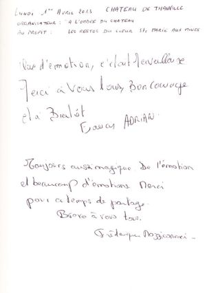 Livre d'Or - Page 45