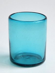 DOF glass solid turquoise