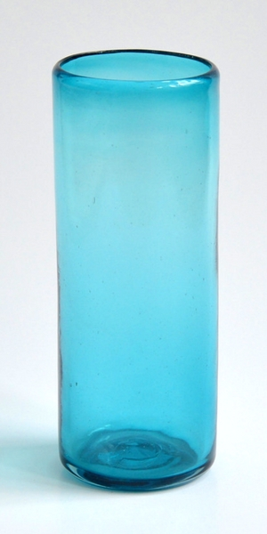 High-ball glass - Solid turquoise Image
