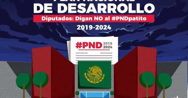 PLAN NACIONAL DE DESARROLLO INSUFICIENTE
