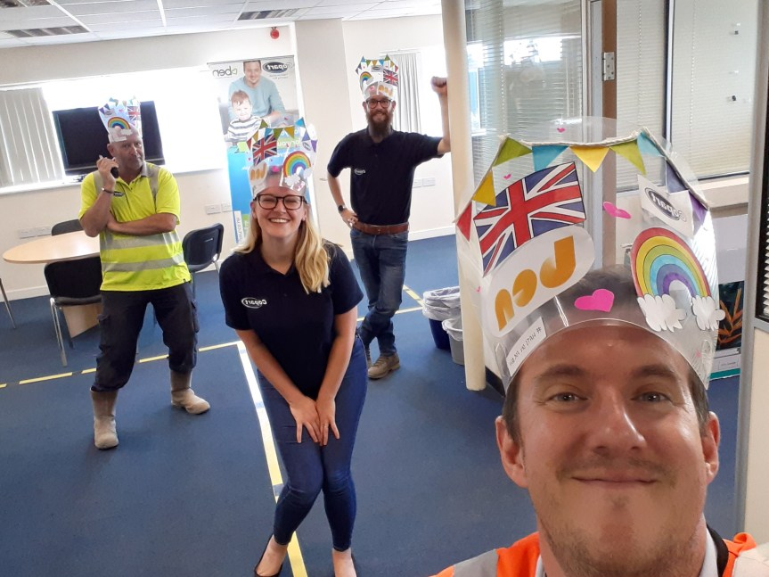 Rochford Operations Centre put their Hats on 4 Ben