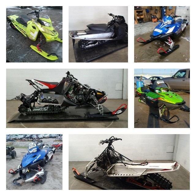 Tis The Season To Buy A Used Snowmobile 5 Tips For Success Copart Community Autoblog