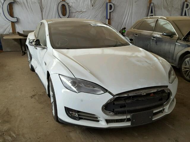 Tesla Car for Sale at Copart.JPG