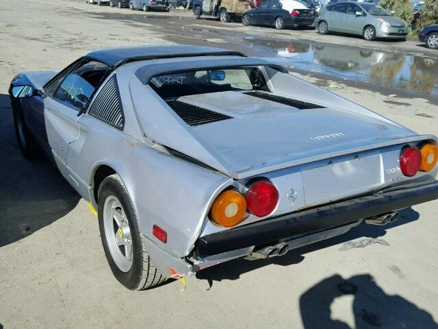 Back of 1985 Ferrari 308