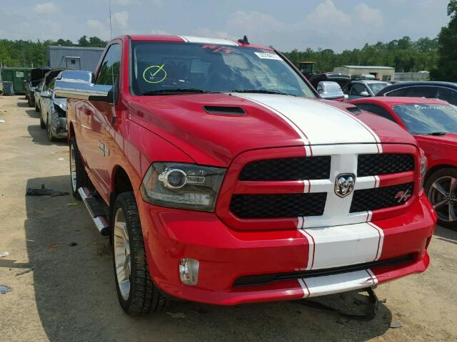 Red and white stripe truck.JPG