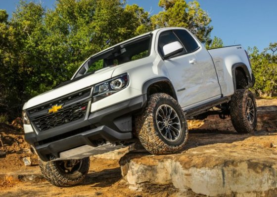 A used truck makes a great off-road vehicle.