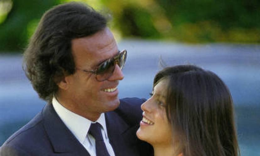 Julio Iglesias junto a su hija Chábeli, en una foto de archivo