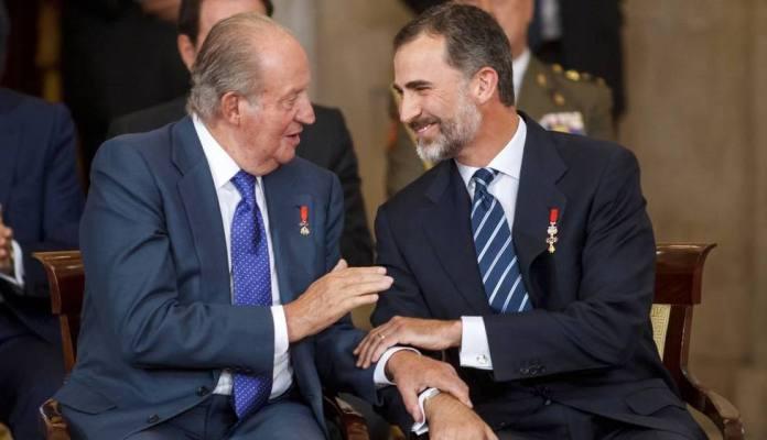 Esta es la carta con la que Don Juan Carlos ha comunicado al rey ...