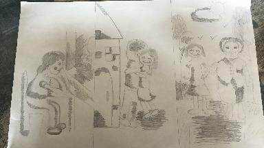 Noelia Aitana Jareño, segundo premio en el Dibuja en Casa