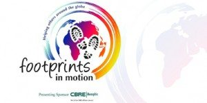 footprints in motion logo
