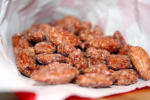 Ristede saltede mandler