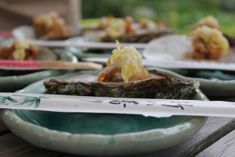 Friterede østers