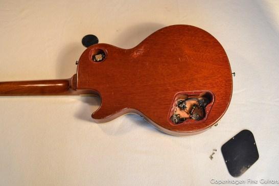 1959 Gibson Les Paul Standard Sunburst vintage guitar for sale-2