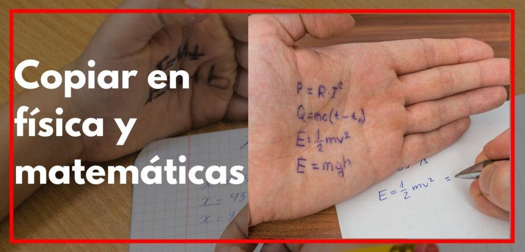 Como copiar en física y matematicas