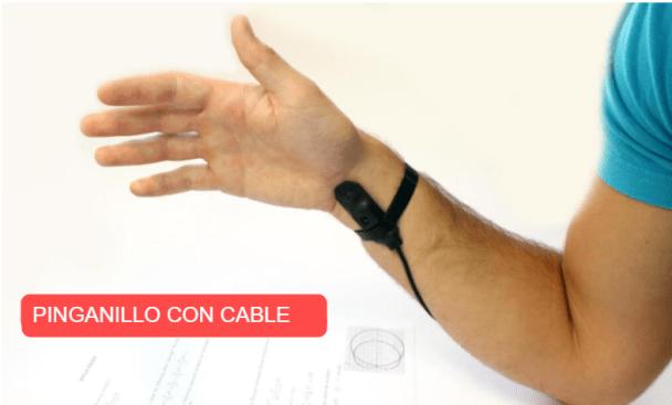 Pinganillo con cable