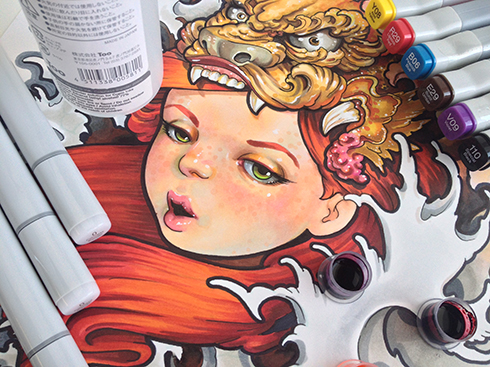 Get Hundreds Of Copic Marker Colors For Cheap