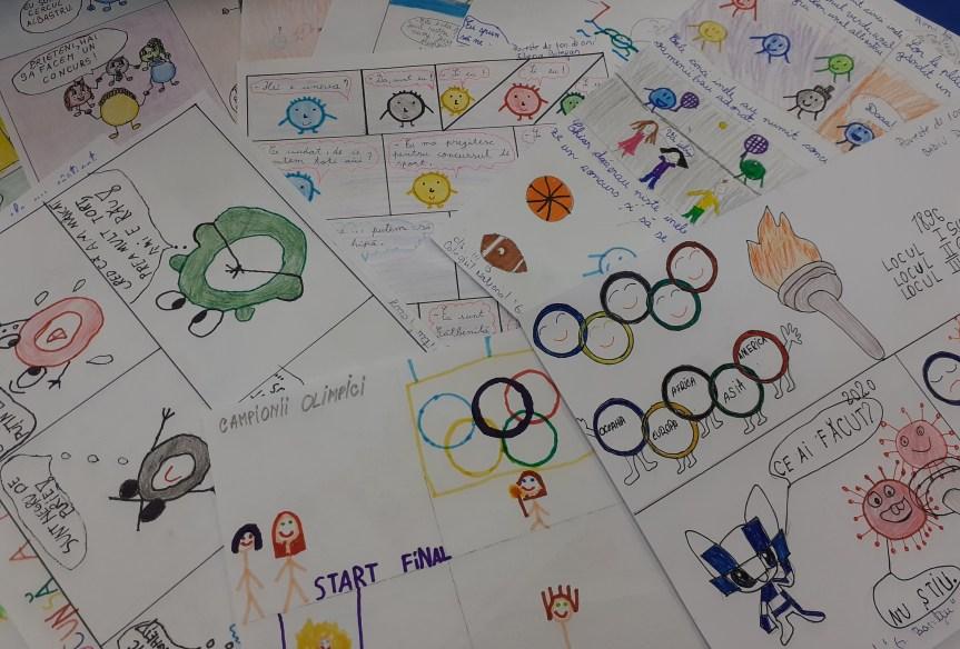 Olimpiada de Benzi Desenate a ajuns la final!