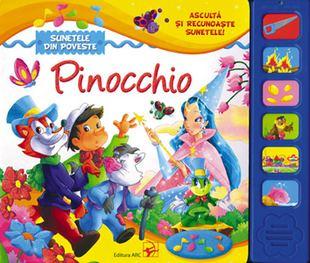 """""""Pinocchio: Sunetele din poveste: [planșe cartonate pentru copii]"""""""