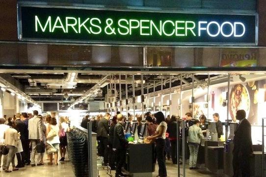 Marks&Spencer Etiquettes Jaunes