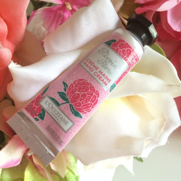 crèmes mains favorites l'occitane pivoine