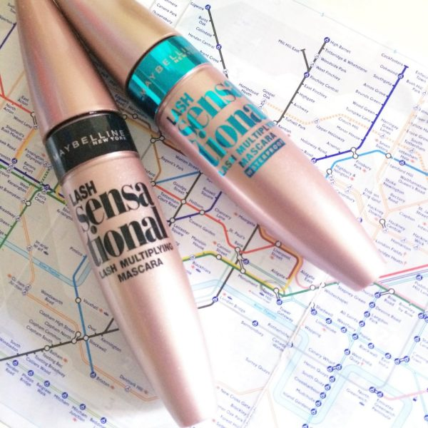 shopping à Londres mascara maybelline