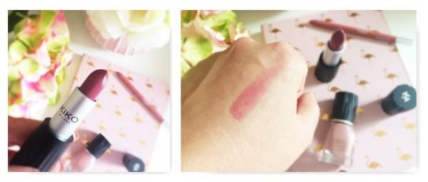 rouge à lèvres Enigma kiko neo noir